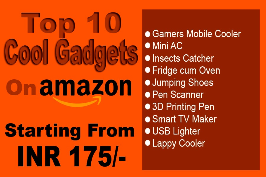 top 10 cool gadgets on amazon list