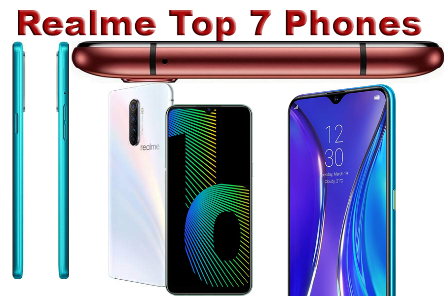 realme top 7 phones models