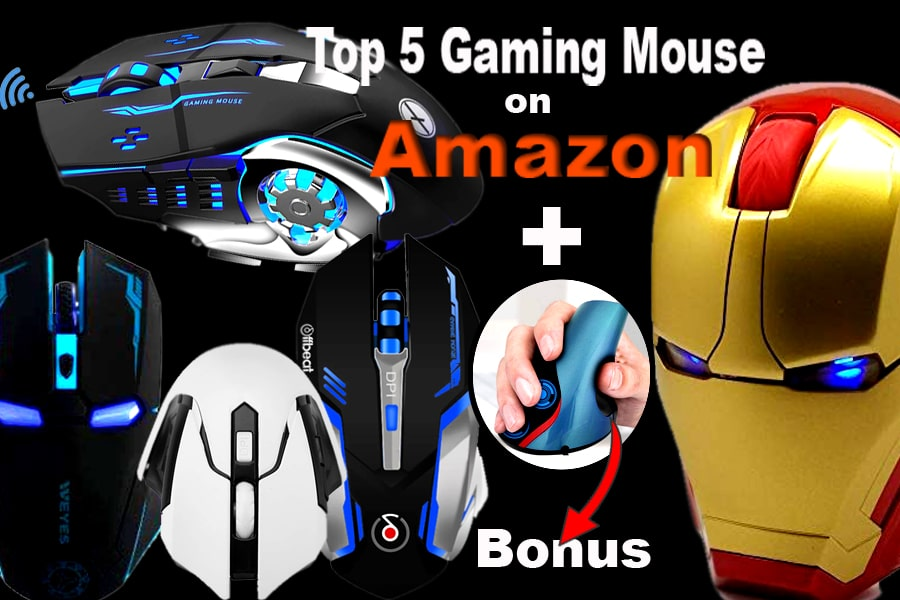 top five gaming mouse on amazon image